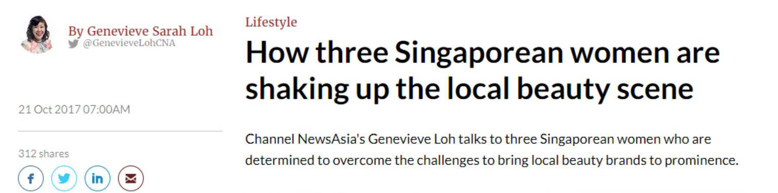 Channel NewsAsia – How three Singaporean women are shaking up the